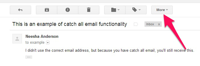 how to get gmail to filter emails to specific folder
